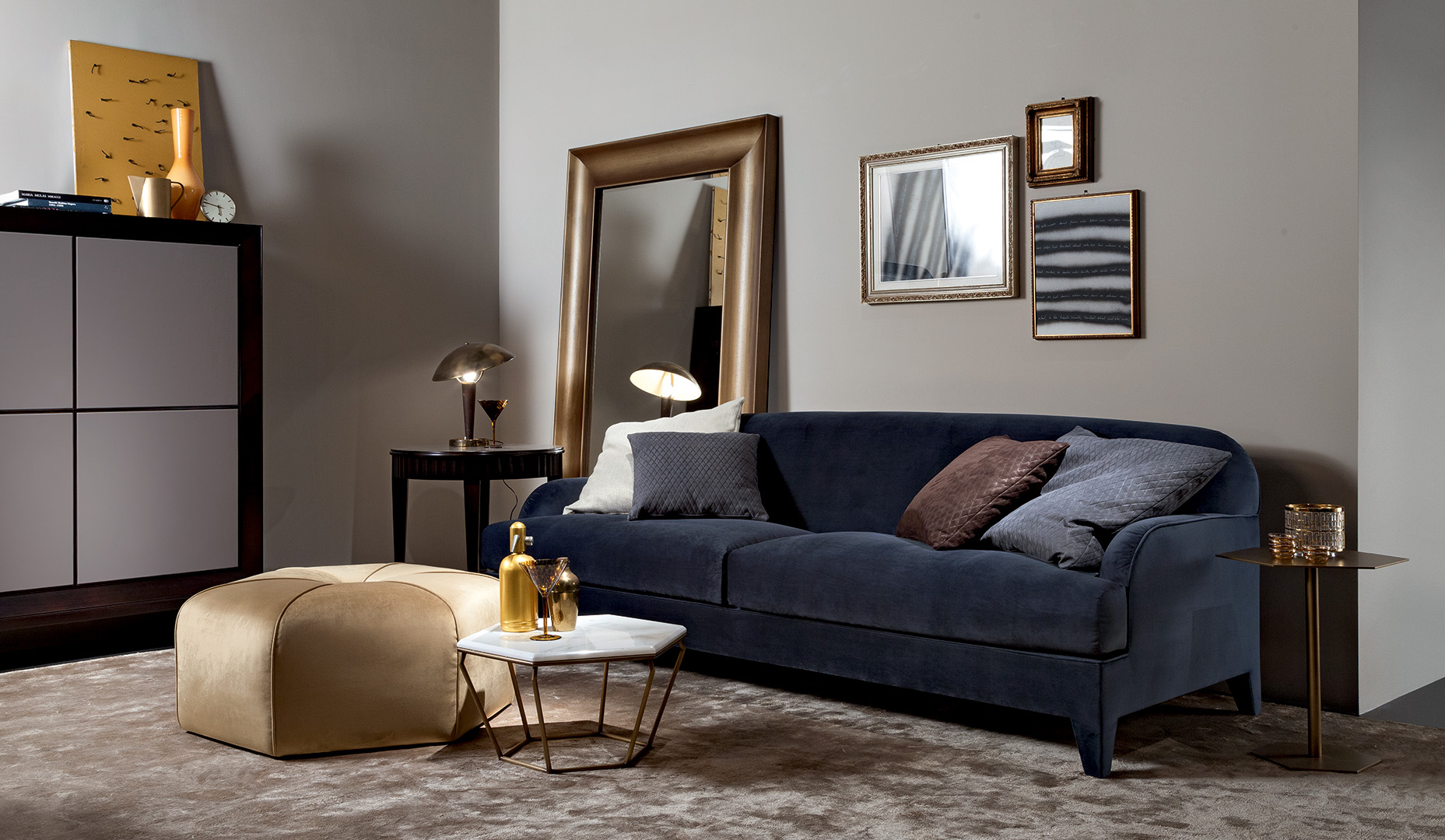 Fabric upholstered st germain sofa dreams line design for Albany st germain sectional sofa chaise
