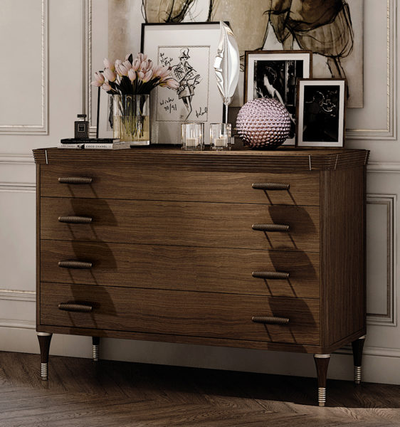 VANITY chest of drawers